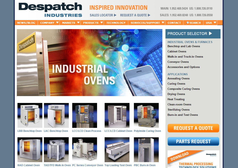 Despatch Home Page